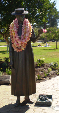Kate Sessions statue in Balboa Park