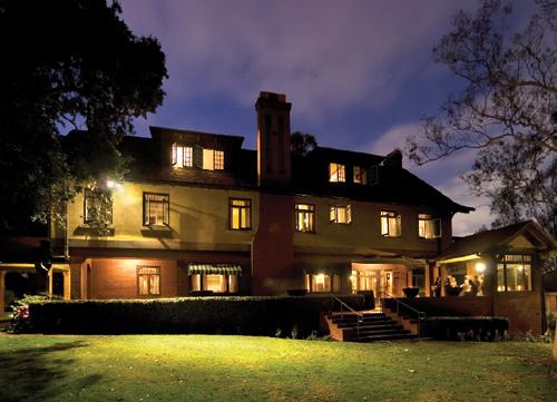 Marston House at twilight